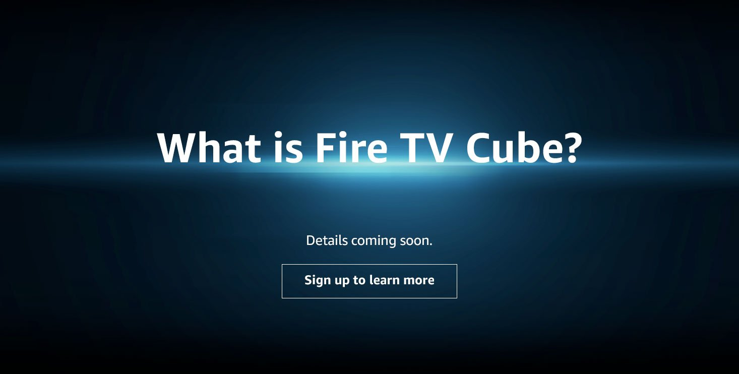 what is amazon fire tv cube
