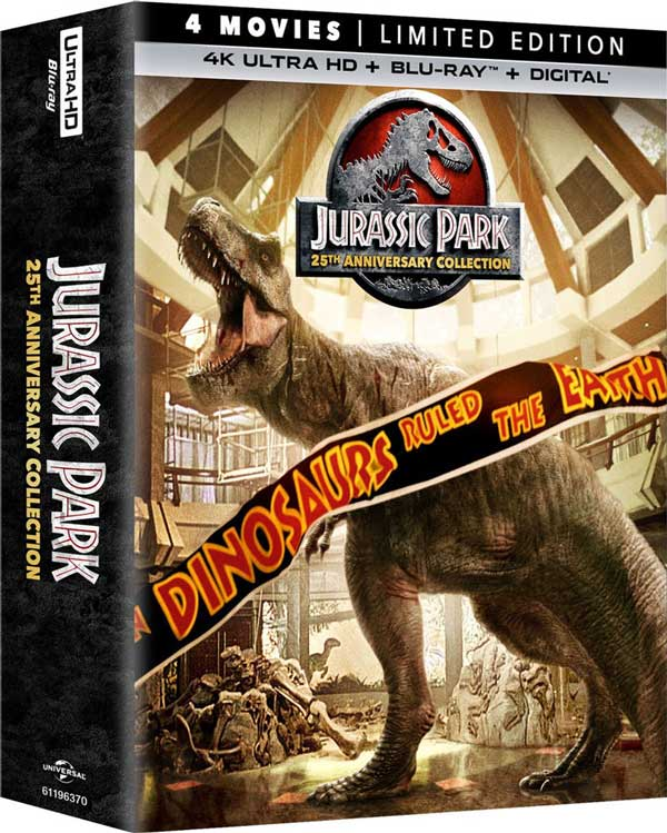 Jurassic Park 25th Anniversary Edition 4k Blu-ray