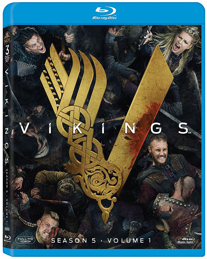 Vikings: Season 5, Part 1 available for Pre-order on Blu-ray