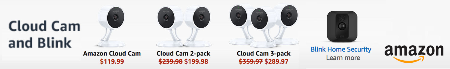 Amazon Cloud Cams