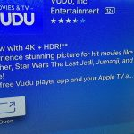 Vudu Now Plays 'The Last Jedi' & Other Movies in 4k/HDR On Apple TV 4k