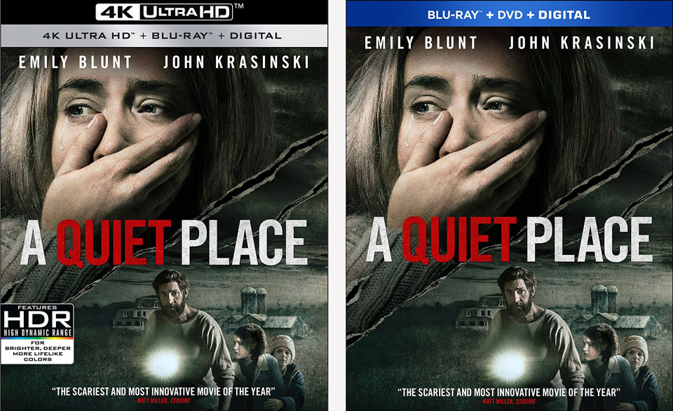 A Quiet Place' release dates & details on Blu-ray, 4k Blu-ray