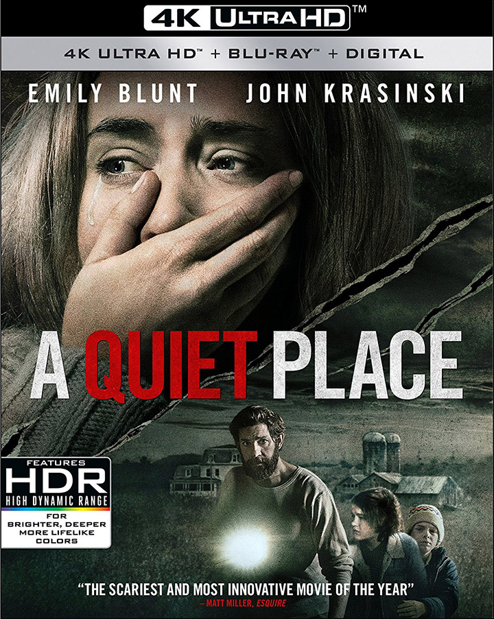 A Quiet Place 4k Blu-ray 720px
