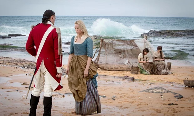 Banished Joseph Millson and Joanna Vanderham in 2015