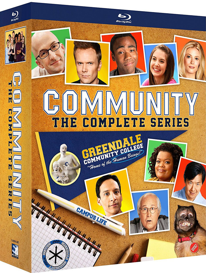 Community - The Complete Series Blu-ray