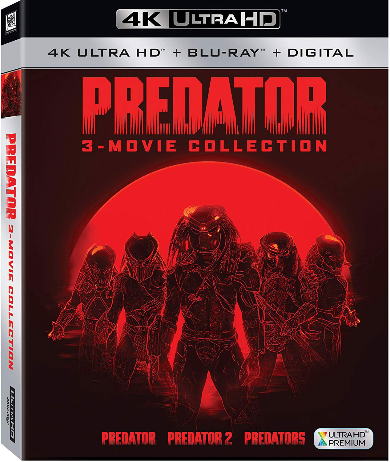 Predator 3 Film Collection 4K Blu-ray