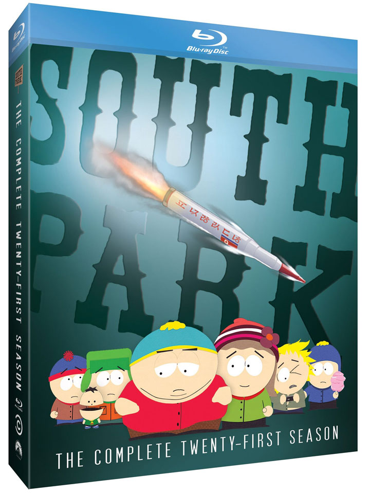 South Park Season 21 Blu-ray Angle