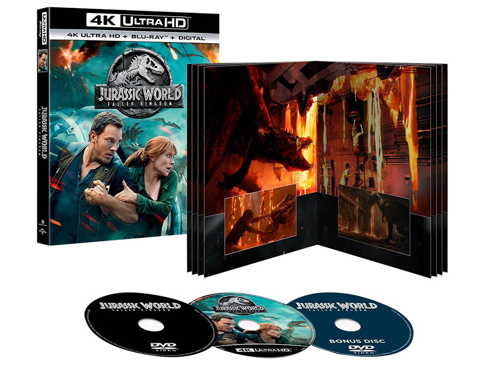 """Jurassic World: Fallen Kingdom"" - Target Exclusive 4k Blu-ray"