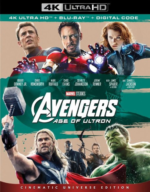 Avengers- Age of Ultron 4k Blu-ray