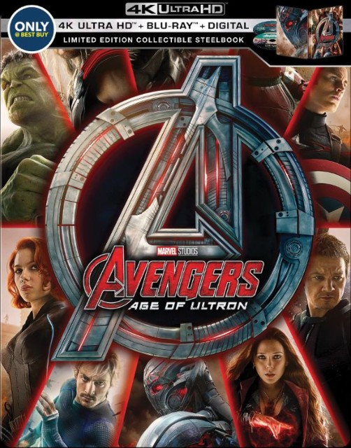 Avengers- Age of Ultron SteelBook