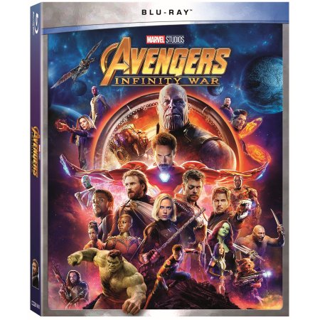 Avengers Infinity War Walmart Exclusive Blu-ray