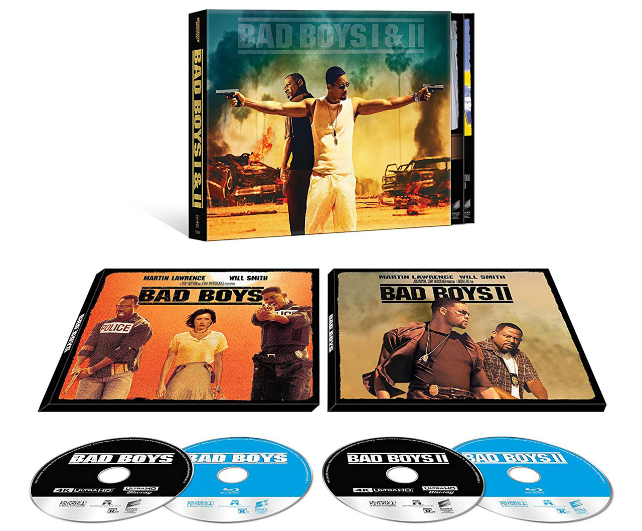 Bad Boys Bad Boys II 4k Blu-ray