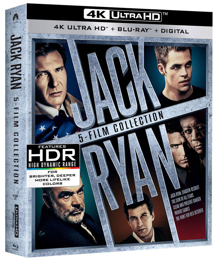 Jack Ryan Collection 4k Blu-ray