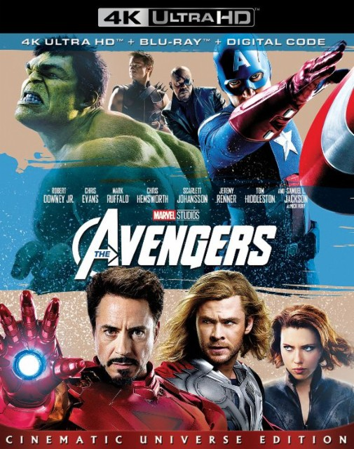 Marvels The Avengers 4k Blu-ray