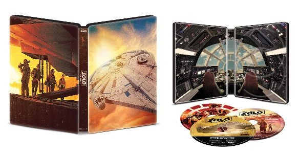 solo a star wars story blu-ray 4k steelbook