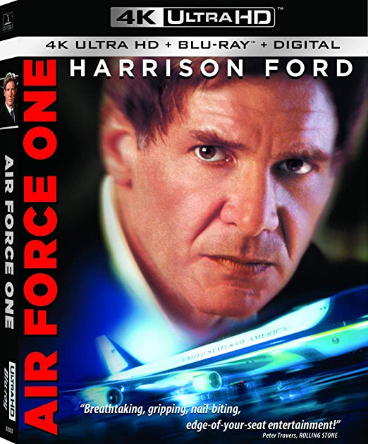 Air Force One Remastered For Ultra Hd 4k Blu Ray Hd Report