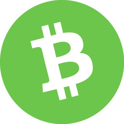 Bitcoin Cash circle logo