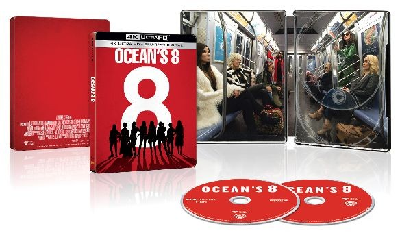 Oceans Eight Best Buy SteelBook