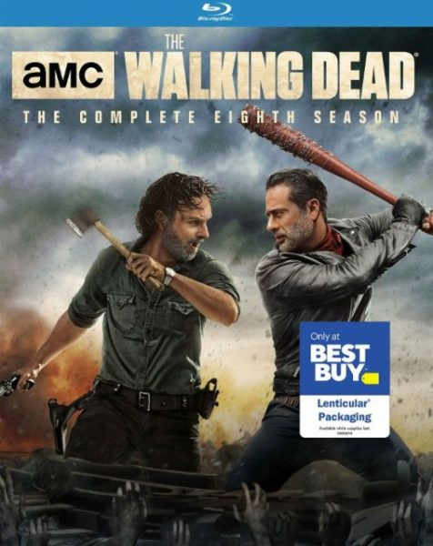 The Walking Dead Season 8 Blu-ray Best Buy Lenticular