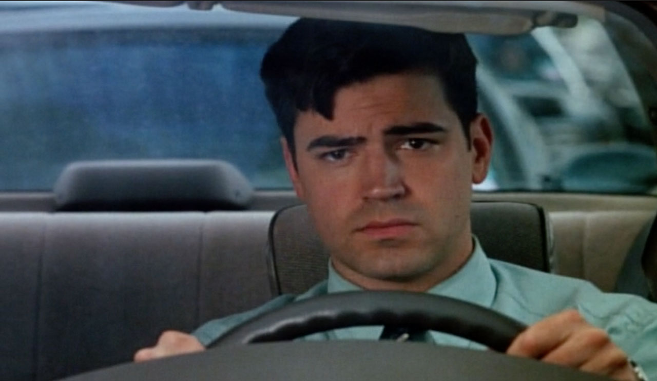 "Ron Livingston stars in ""Office Space"" (1999)"