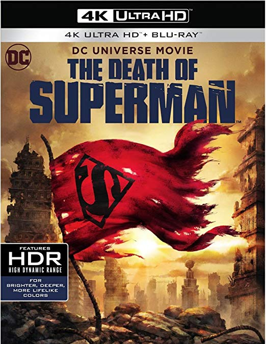 the death of superman 4k blu-ray