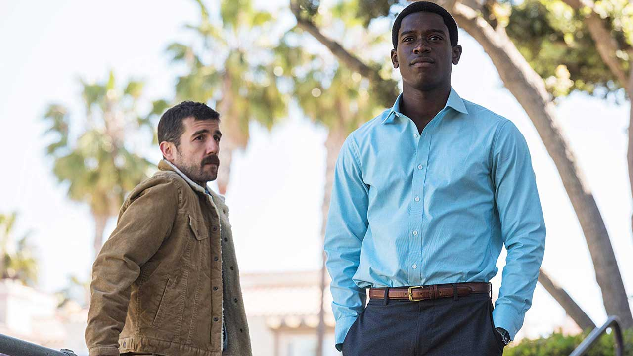 "Image: FX's ""Snowfall"" starring Carter Hudson and Damson Idris"