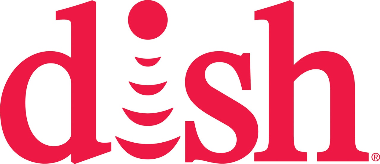 dish logo red