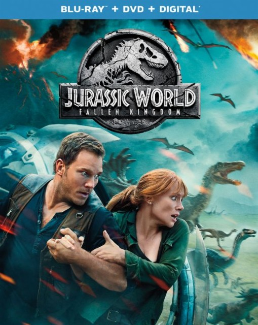 Jurassic World- Fallen Kingdom Slipcover Blu-ray