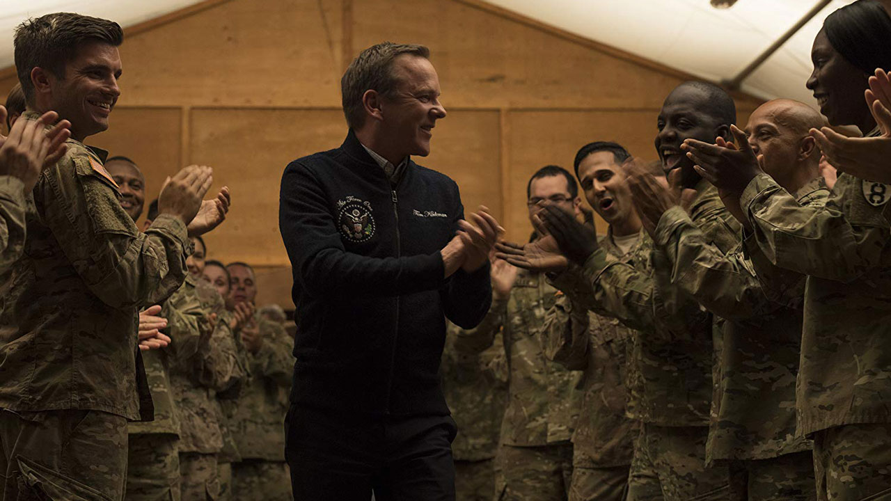 "Kiefer Sutherland in ""Designated Survivor"" Photo by Ben Mark Holzberg/ABC"