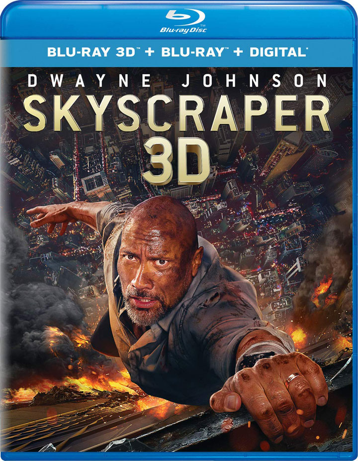 """Skyscraper"" 3D Blu-ray Edition"