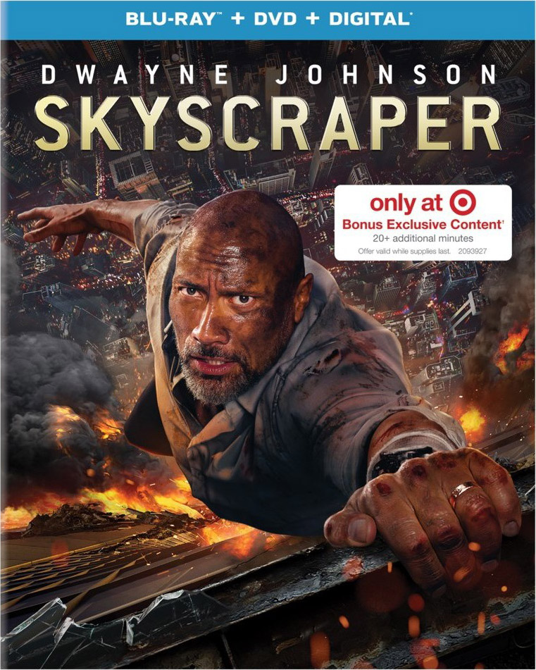 """Skyscraper"" Target Blu-ray Limited Edition"