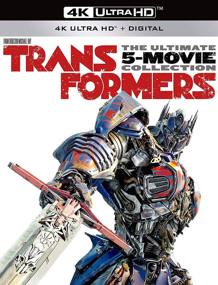 Transformers The Ultimate Five Movie Collection 4k Blu-ray