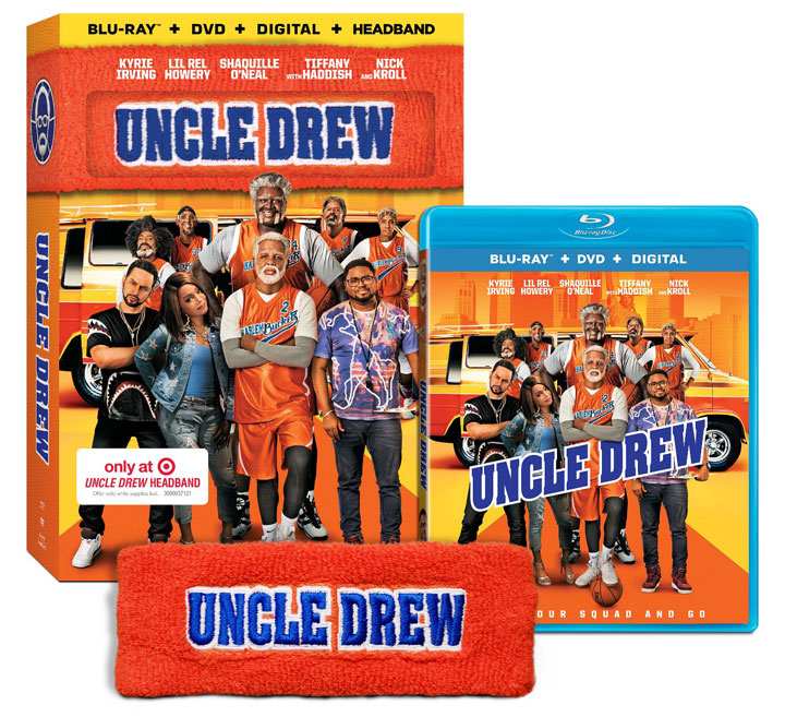 """Uncle Drew"" Target Blu-ray & Headband Edition"