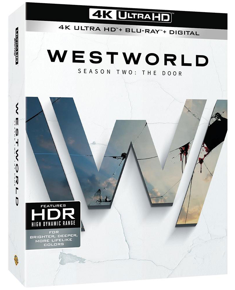 Westworld Season 2 The Door 4k Blu-ray 3D
