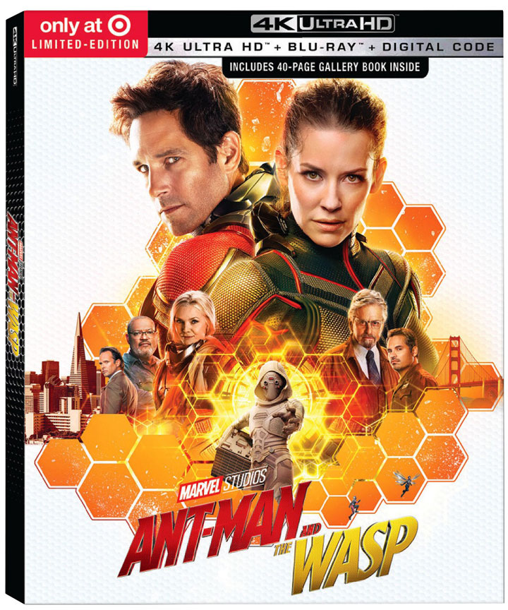 """Ant-Man and The Wasp"" 4k Blu-ray Target Exclusive Limited Edition"