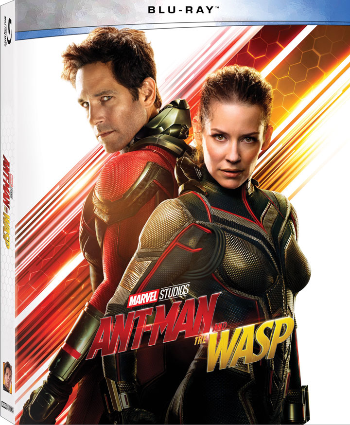 """Ant-Man and The Wasp"" 4k Blu-ray Walmart Limited Edition"