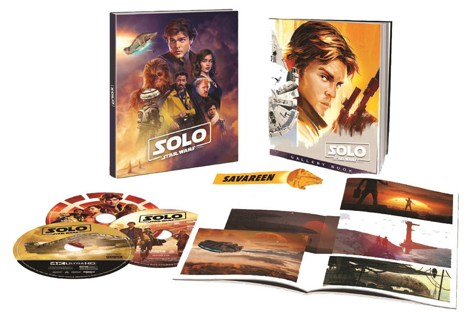 """Solo: A Star Wars Story"" Target Exclusive Blu-ray with Photo Book"