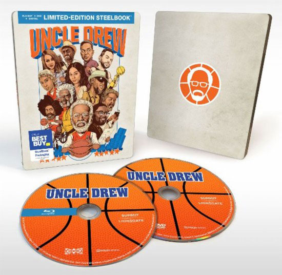 """Uncle Drew"" Best Buy SteelBook Edition"