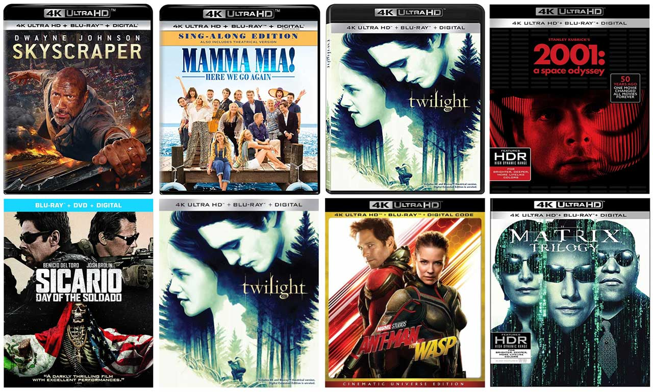 New 4k Blu-ray Releases in October, 2018 – HD Report