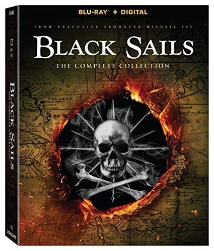 Black Sails Complete Collection Blu-ray
