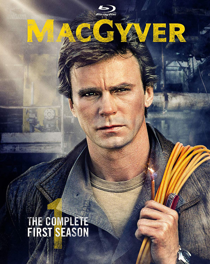 MacGyver The Complete First Season Blu-ray