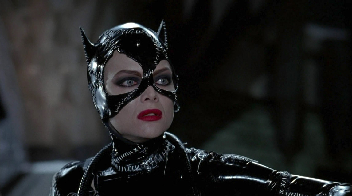 Michelle Pfeiffer Catwoman in Batman Returns 1992