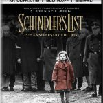 'Schindler's List' Upgraded to 4k Blu-ray for 25th Anniversary Edition