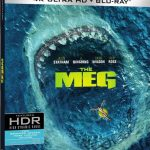 'The Meg' Blu-ray, 3D, 4k & Digital Release Dates
