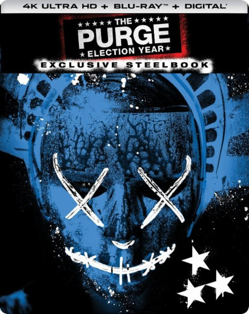 The Purge- Election Year SteelBook Best Buy