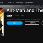 Movies Anywhere Doesn't Provide Video Specs or 4k/HDR