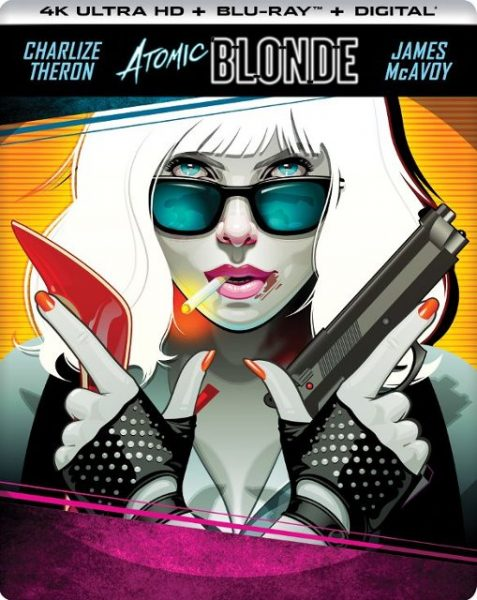 atomic blonde steelbook 4k blu-ray
