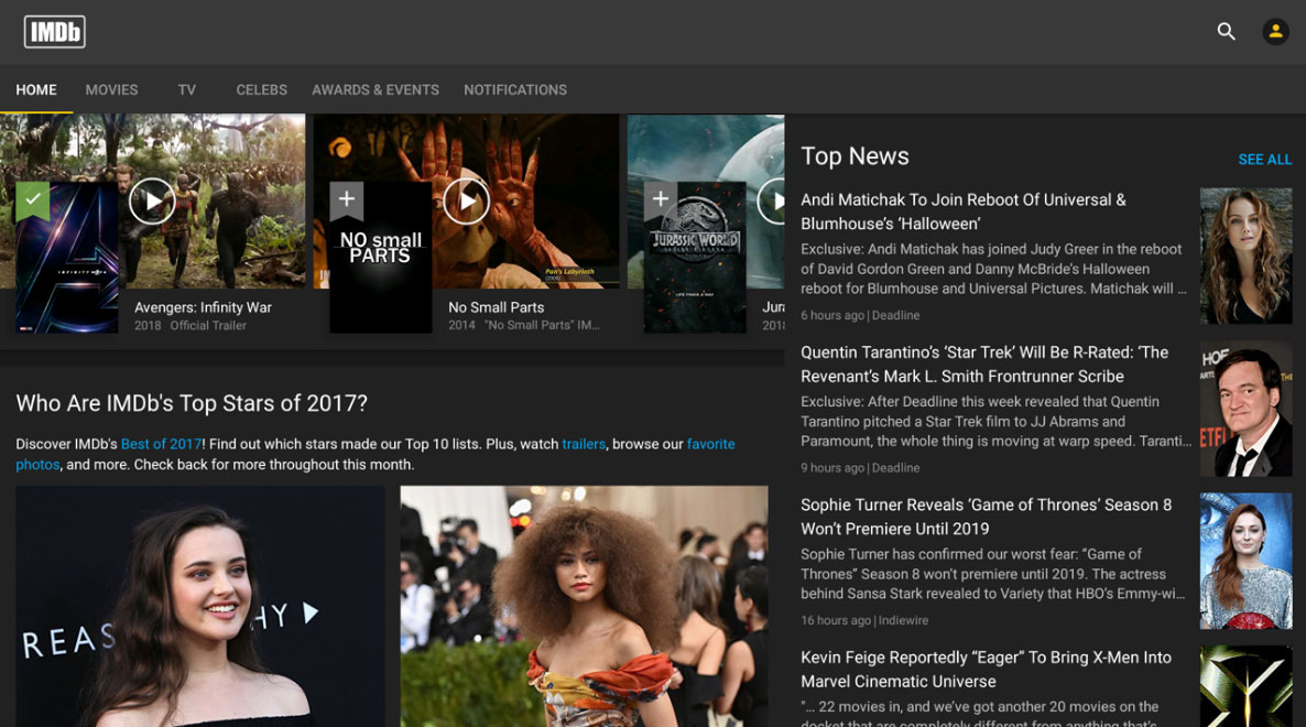 IMDb Readying Ad-Supported Video Service For Amazon Fire TV 10/02/2018