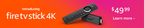 New Fire TV Stick 4k