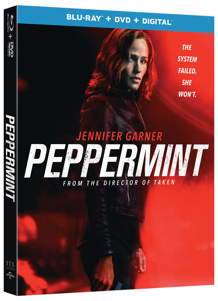 Peppermint' Blu-ray & Digital Release Dates Announced – HD Report